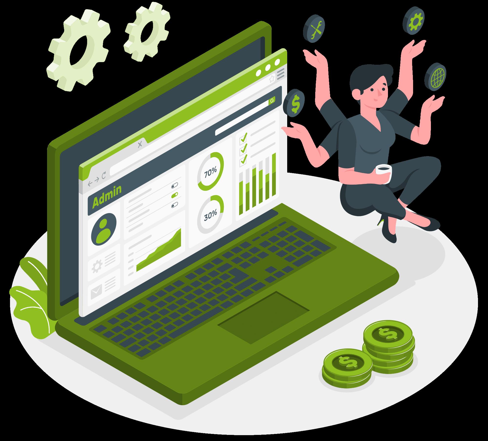 Effiziente Prozesse für Onlineshop und Lokal