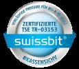 Die AmadeusKasse verwendet die zertifizierte TSE der Swissbit